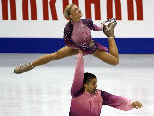 Aliona Savchenko, Russia, Figure Skating