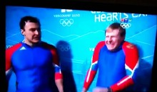 Bobsledder Finds Joy In Opponent's Crash (Video)