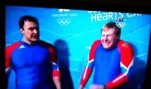 Bobsledder Finds Joy In Opponent's Crash (Video)