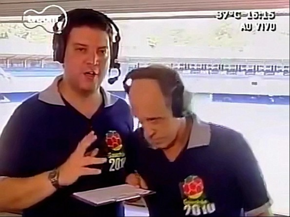 Brazilian Commentator Faints On Live Television