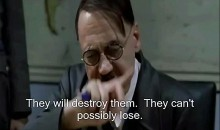 Hitler Has Been Informed Of The USA's Victory Over Canada