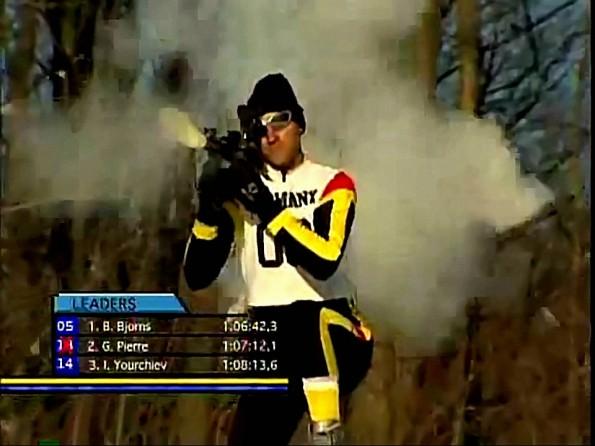 Imagine If Biathlon Was Like This