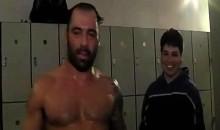 UFC's Joe Rogan Has A Creepy Locker Room Stalker (Video)