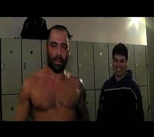 Joe Rogan Has A Creepy Locker Room Stalker