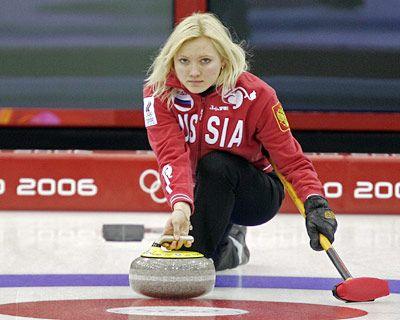 Liudmila Privivkova, Russia, Curling