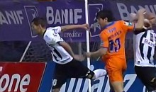 Nuno Pinto Delivers A No-Look Crotch Kick (Video)