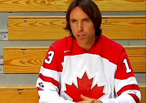 Steve Nash Wants a Spot on the Canadian Men's Hockey Team