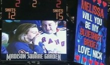 Hockey Game Video Board Marriage Proposal Goes Wrong
