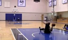 Vince Carter Hits 86-Foot Shot Sitting Down (Video)