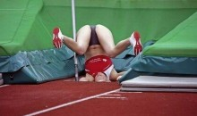 Picture of the Day:  Pole Vaulting Gone Awry