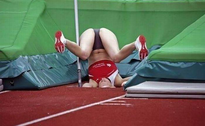 fotos de mujeres pilladas haciendo deporte: