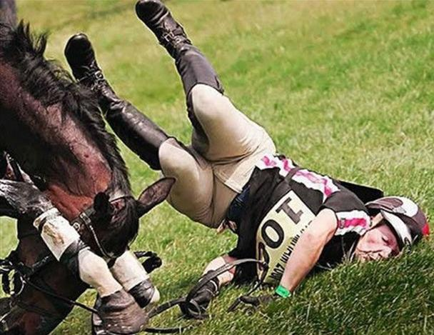 equestrian fail