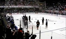 19 Players Ejected After Bench-Clearing Brawl During SPHL Game (Video)