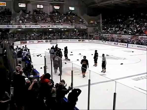 19 Players Ejected After Bench-Clearing Brawl During SPHL Game
