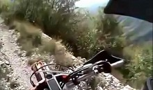 Bikers Take Most Dangerous Ride Ever (Video)