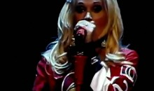 Carrie Underwood Shows Her Love For The Sens (Video)