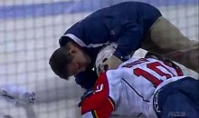 David Booth Suffers Yet Another Concussion After Crushing Hit