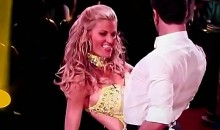 Erin Andrews' Shows Off Her Naughty Moves On DWTS (Video)