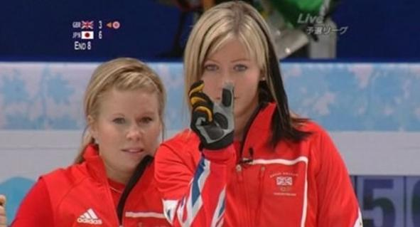 Eve Muirhead Taunts the Japanese