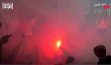 German Soccer Fan's Feet Catch Fire (Video)