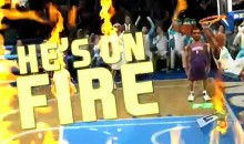 He's On Fire! NBA Jam 2010 Trailer (HD)