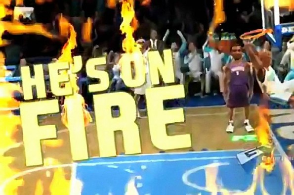 He's On Fire! NBA Jam 2010 Trailer