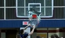 High School Dunker Shatters Backboard (Video)