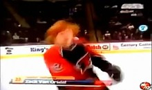 High School Hockey Introduction Fail (Video)