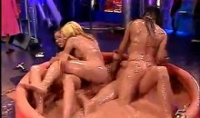 Hot Bikini Clad Girls Mud Wrestle On Spanish TV (Video)