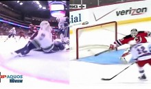 Battle Of The Stick Saves: Brodeur vs. Raycroft (Video)