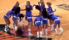 Knicks Cheerleaders As Bad As Their Team (Video)