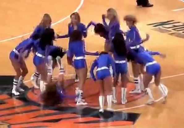Knicks Cheerleaders As Bad As Their Team