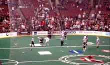 Lacrosse Brawl: Philadelphia Wings vs. Boston Blazers (Video)
