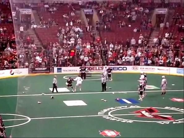 Lacrosse Brawl Philadelphia Wings vs. Boston Blazers