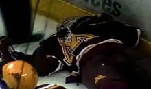Matt Frattin Destroys Kevin Wehrs during WCHA Playoffs
