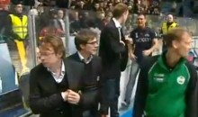 Fan Attacks Coach On The Bench During Swedish Elite League Game