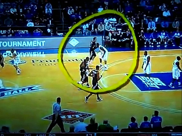 Seton Hall's Herb Pope Delivers A Double-Groin-Shot