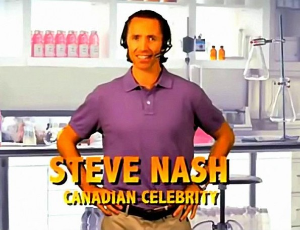 Steve Nash Wants You To Stay Vitaminized