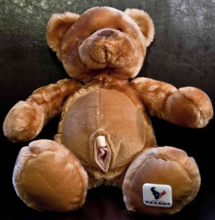 Texans Bear Now Comes With Built-In Vagina