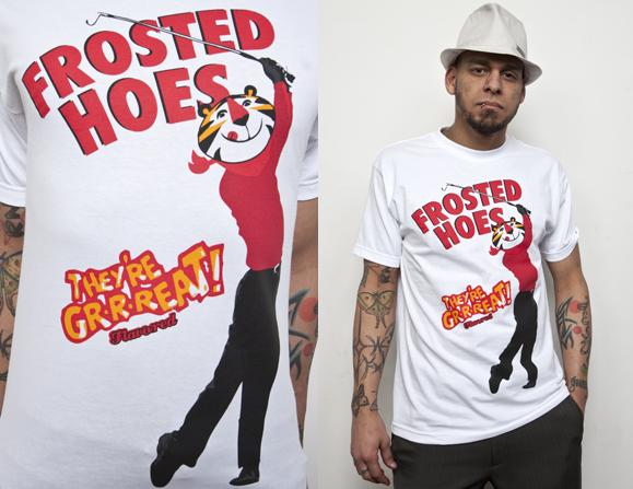 Tiger's Frosted Hoes T-Shirt