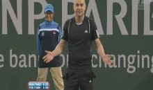 Sampras And Agassi Engage In Heated Confrontation On The Court