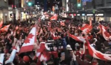 Let The Celebrating Begin! Canada Wins Men's Hockey Gold!