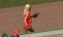Ball Girls Don't Get Any Hotter Than This (Video)