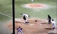 Fordham's Kownacki Makes An Amazing Leap At The Plate