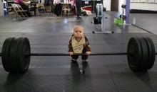 Picture Of The Day – Never Too Young To Do Some Lifting