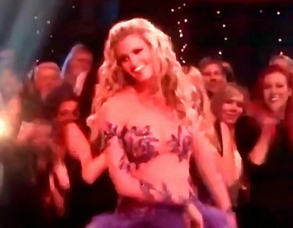 Erin Andrews Revelaing DWTS Dress Draws Attention