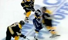 Johnny Boychuk Destoys Matt Ellis (Video)