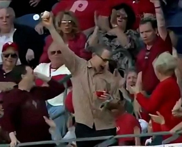 Phillies Fan Makes A Great Grab