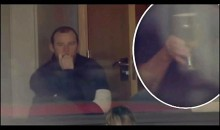 Thirsty Wayne Rooney Caught In The Act (Video)
