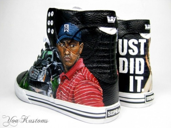 Tiger Woods Supra High Tops